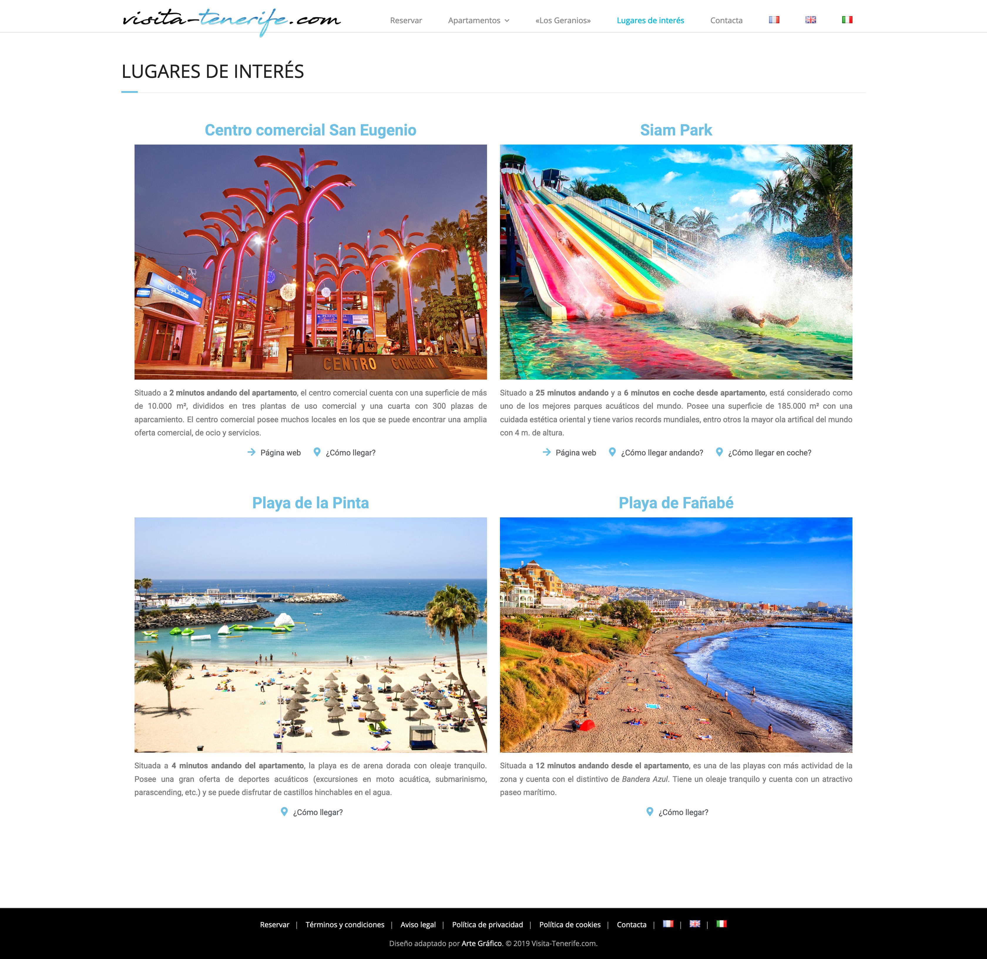 Visita Tenerife - Arte Gráfico
