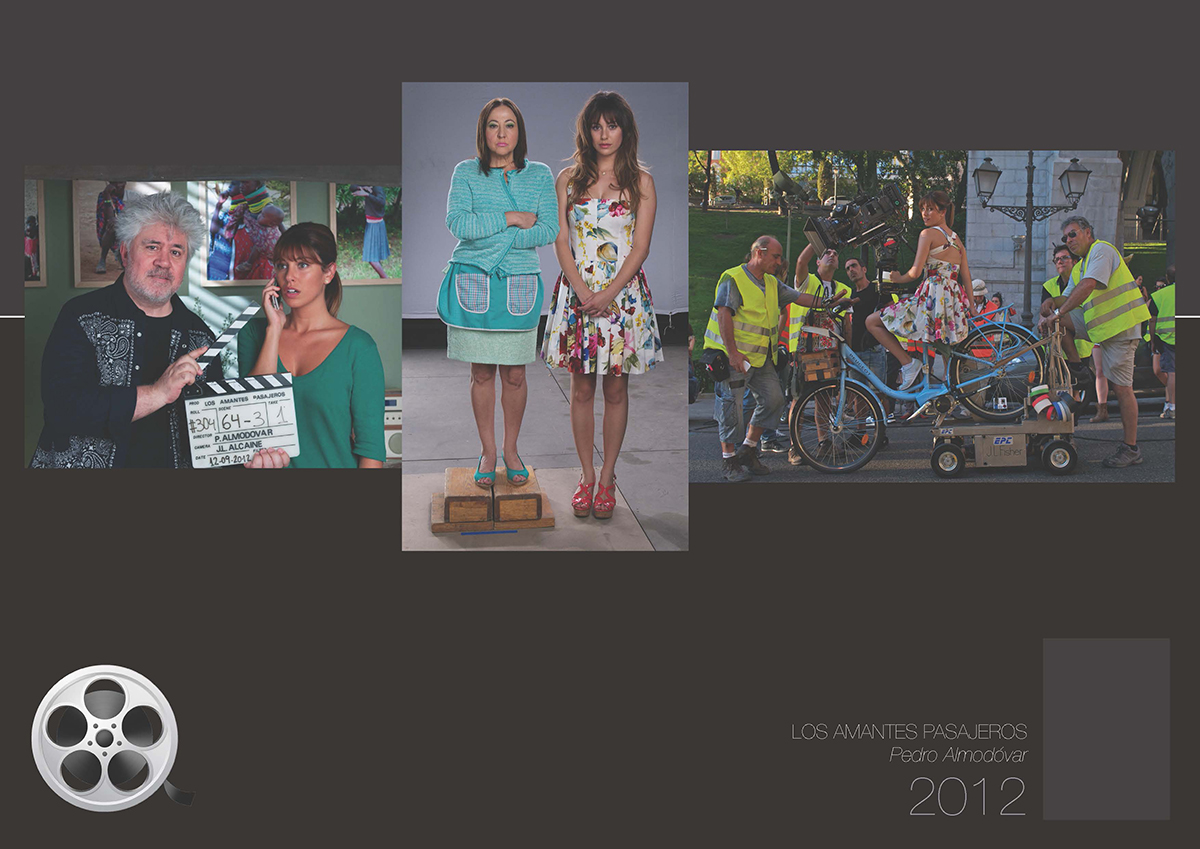 Blanca Suárez (Dossier de prensa 2012) - Arte Gráfico